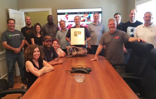 Nucleus Medical Media Surpasses One Million Subscribers, Receives Youtube Gold Creator Award
